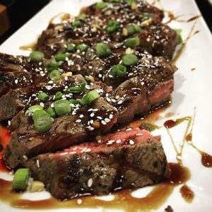 Sticky stout steak recipe